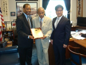 Presentation - Establishment of The John Conyers Jr. Public Service Scholarship Award